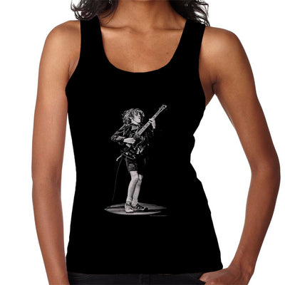 Angus Young ACDC 1976 Women's Vest