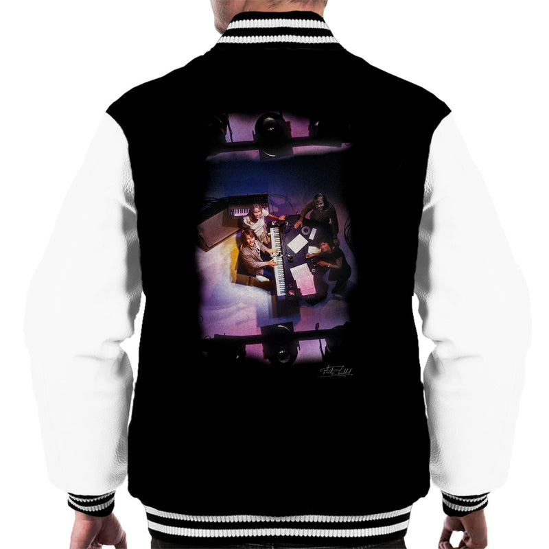 Abba Piano Men's Varsity Jacket - Don't Talk To Me About Heroes