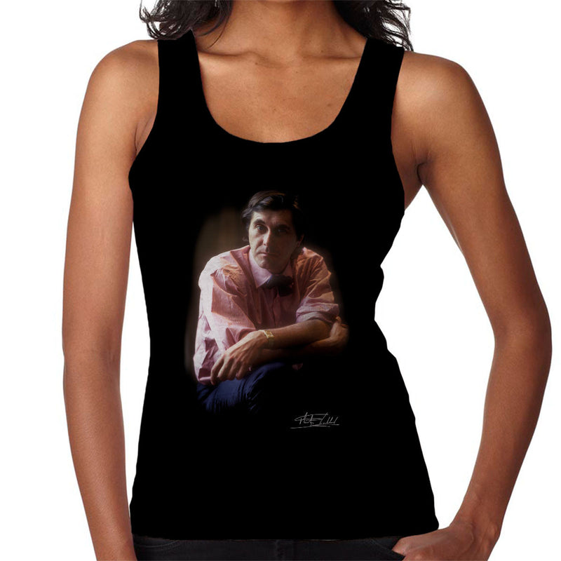 Bryan Ferry Roxy Music Women's Vest - Don't Talk To Me About Heroes