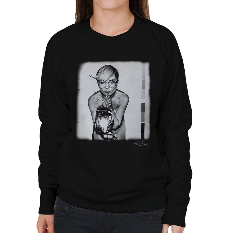 Debbie Harry Blondie Camera Gramercy Park Hotel Women's Sweatshirt