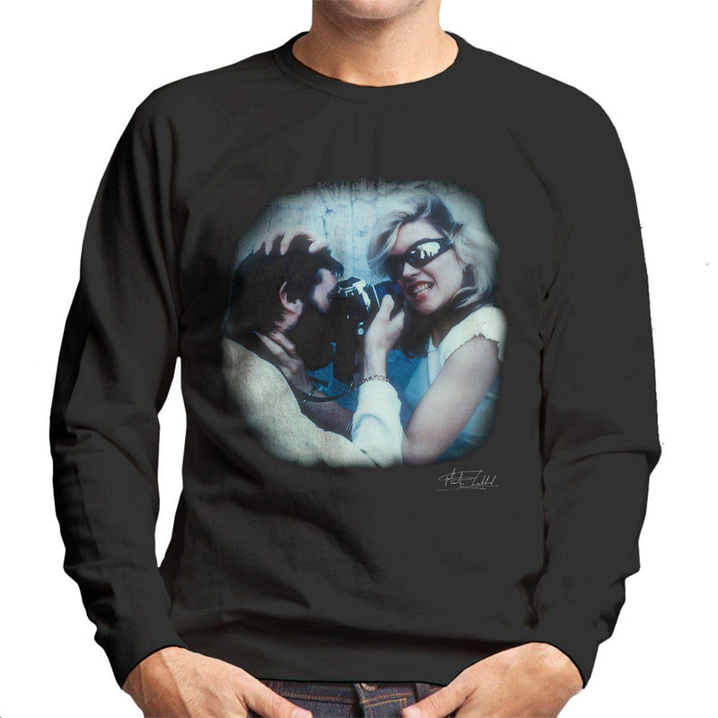 Debbie Harry And Martyn Goddard Men's Sweatshirt - Don't Talk To Me About Heroes
