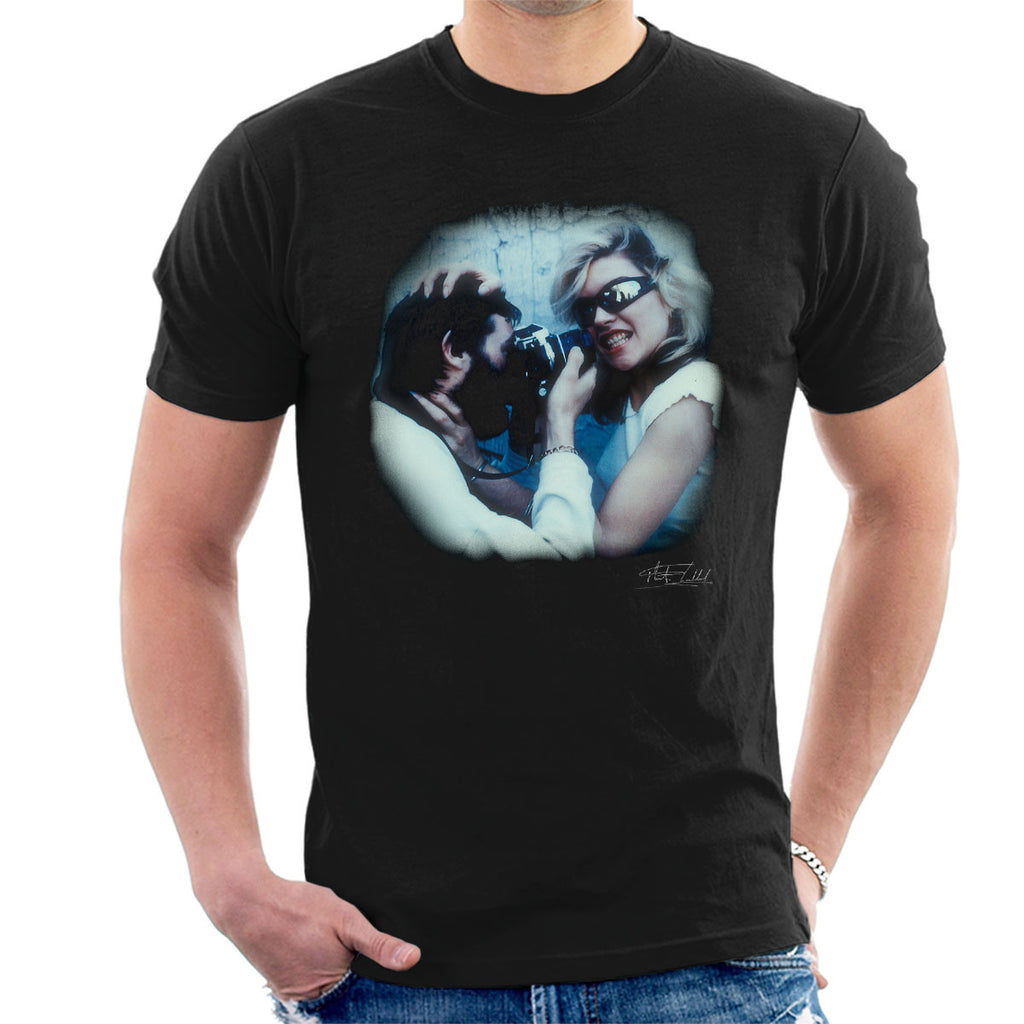Debbie Harry And Martyn Goddard Men's T-Shirt