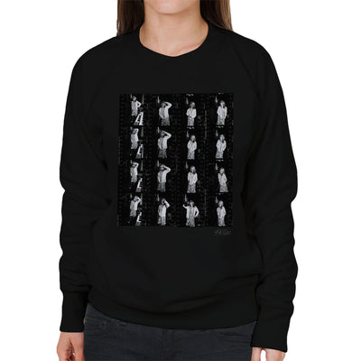 Debbie Harry In Studio Kodak Film Women's Sweatshirt - Don't Talk To Me About Heroes