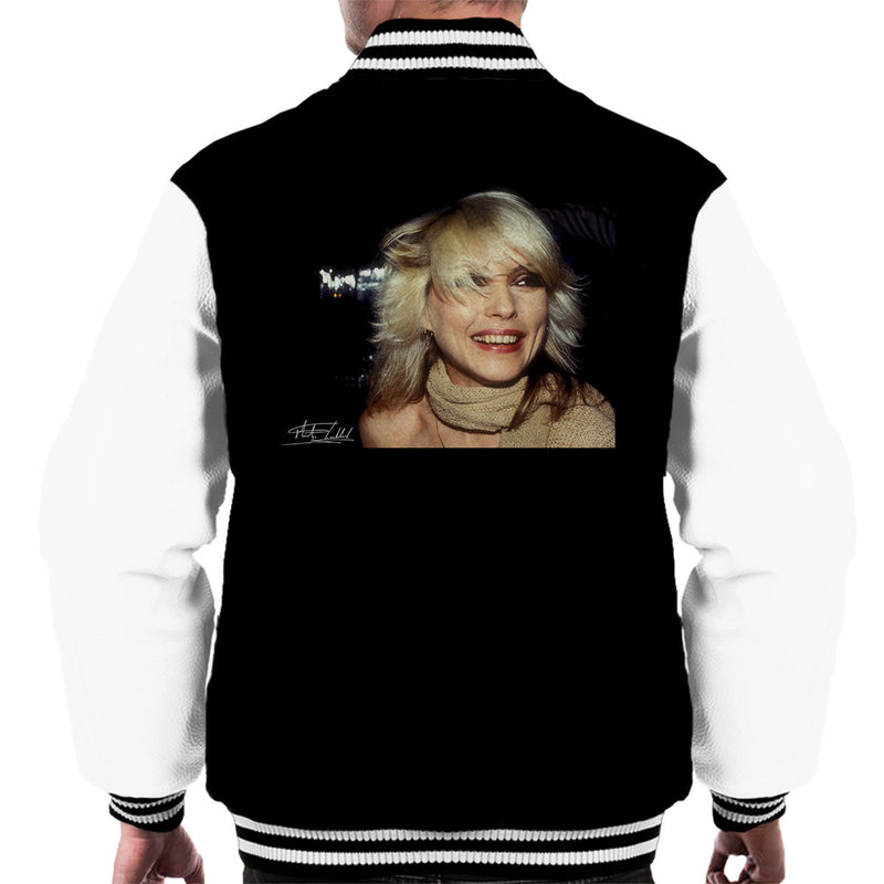 Debbie Harry Smile Men's Varsity Jacket - Don't Talk To Me About Heroes