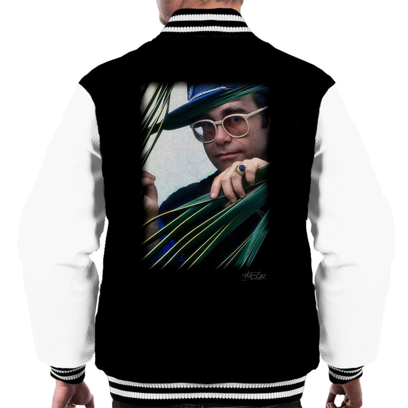 Elton John Peeping Signet Ring Men's Varsity Jacket - Don't Talk To Me About Heroes