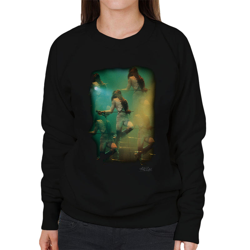 Freddie Mercury In White Queen On Stage Women's Sweatshirt