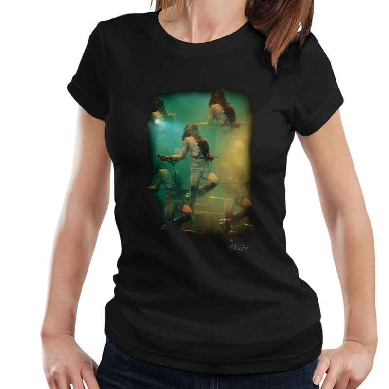 Freddie Mercury In White Queen On Stage Women's T-Shirt - Don't Talk To Me About Heroes