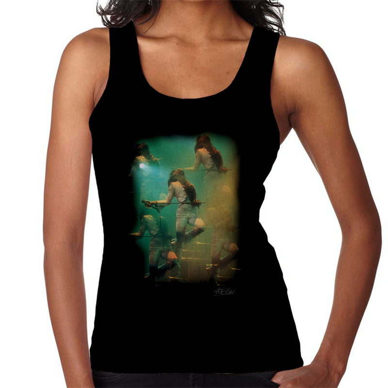 Freddie Mercury In White Queen On Stage Women's Vest - Don't Talk To Me About Heroes