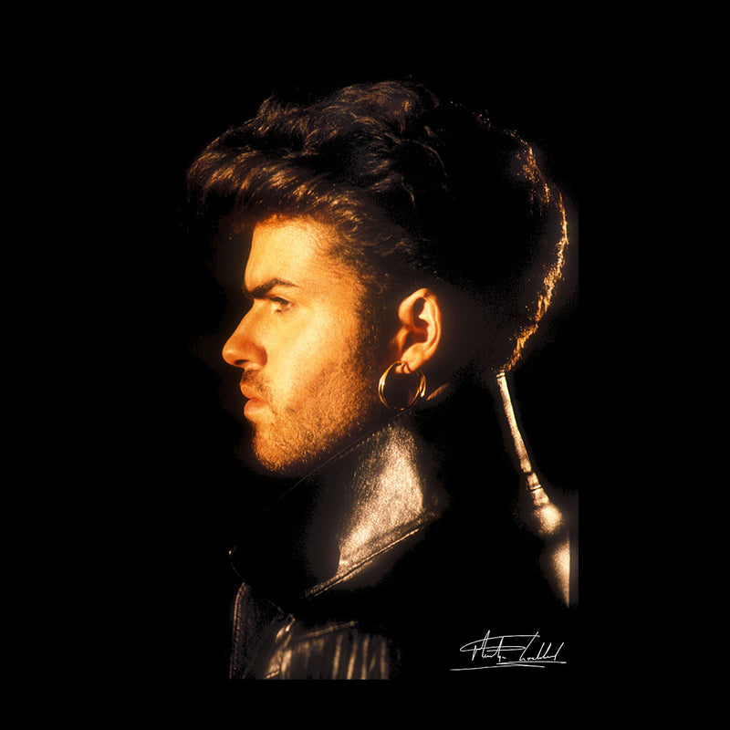 George Michael Side Profile 1986 Men's Vest - Don't Talk To Me About Heroes