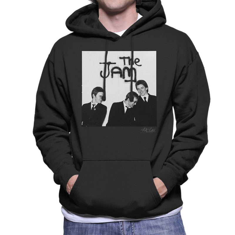 The Jam All Around The World Sleeve Session Spray Paint Men's Hooded Sweatshirt - Don't Talk To Me About Heroes