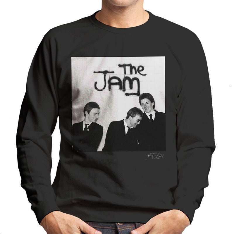 The Jam All Around The World Sleeve Session Spray Paint Men's Sweatshirt - Don't Talk To Me About Heroes