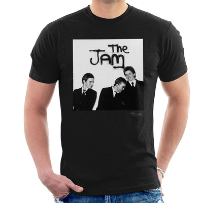 The Jam All Around The World Sleeve Session Spray Paint Men's T-Shirt - Don't Talk To Me About Heroes