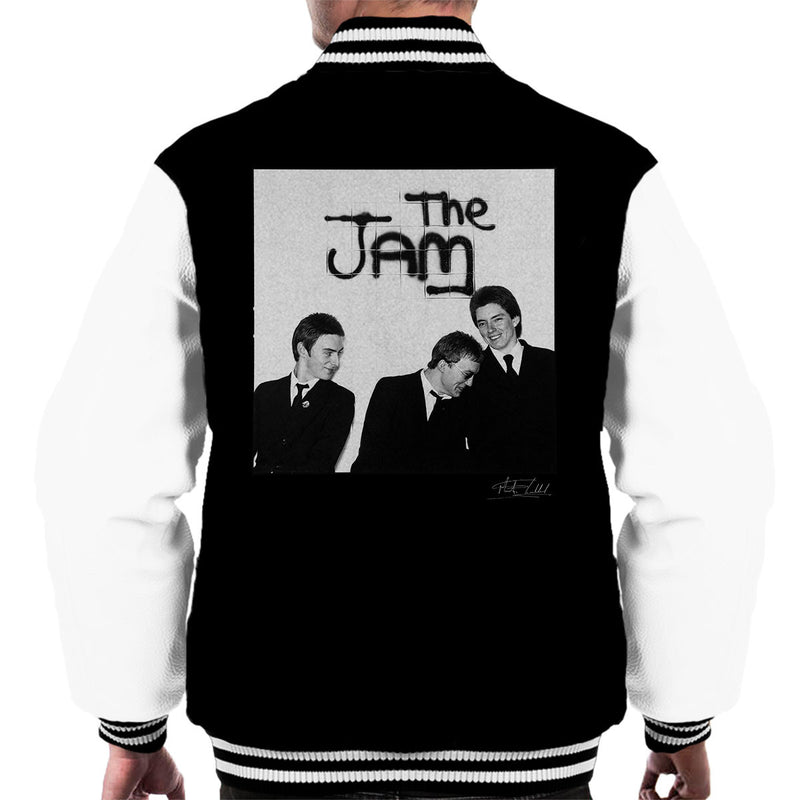The Jam All Around The World Sleeve Session Spray Paint Men's Varsity Jacket