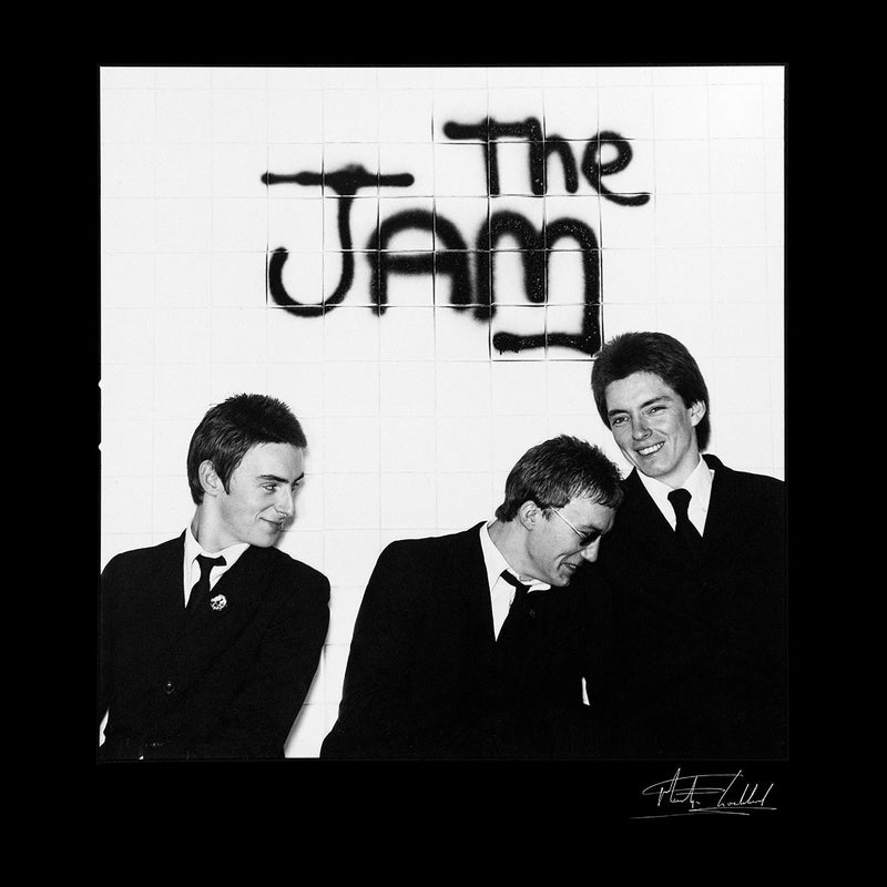 The Jam All Around The World Sleeve Session Spray Paint Men's Varsity Jacket - Don't Talk To Me About Heroes