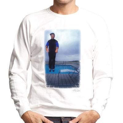 Elton John Jump White Men's Sweatshirt