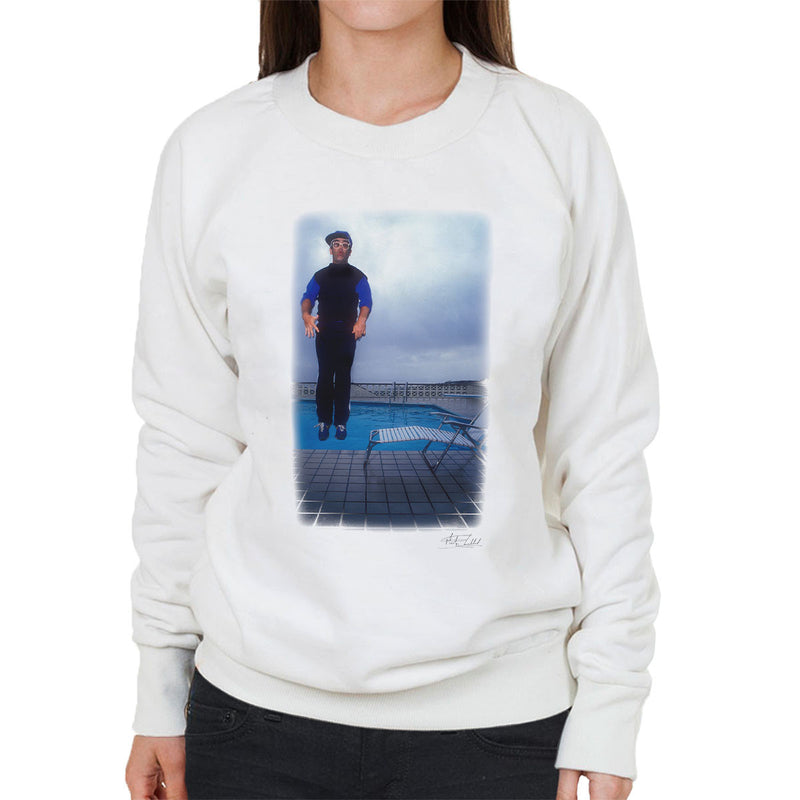 Elton John Jump White Women's Sweatshirt - Don't Talk To Me About Heroes