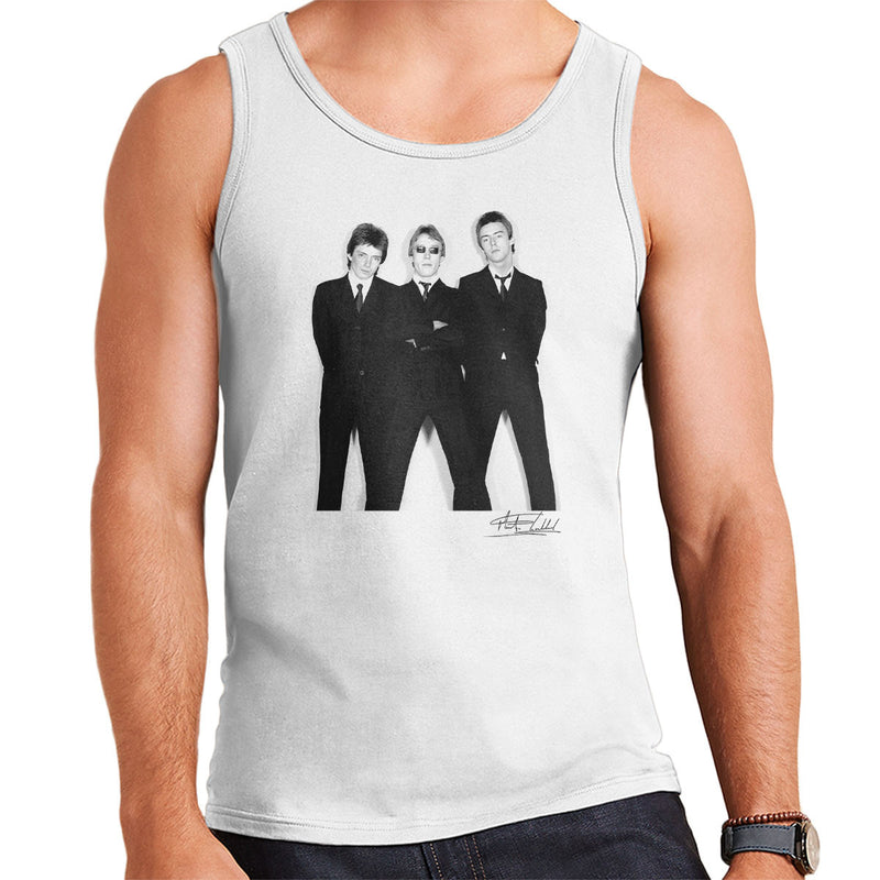 The Jam All Around The World Sleeve Session Men's Vest - Don't Talk To Me About Heroes
