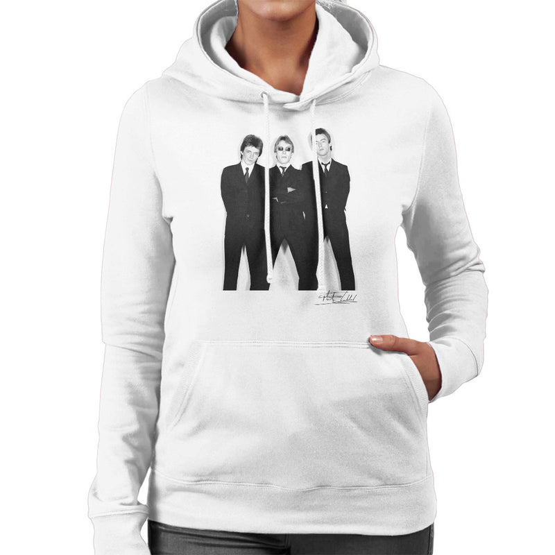 The Jam All Around The World Sleeve Session Women's Hooded Sweatshirt - Don't Talk To Me About Heroes