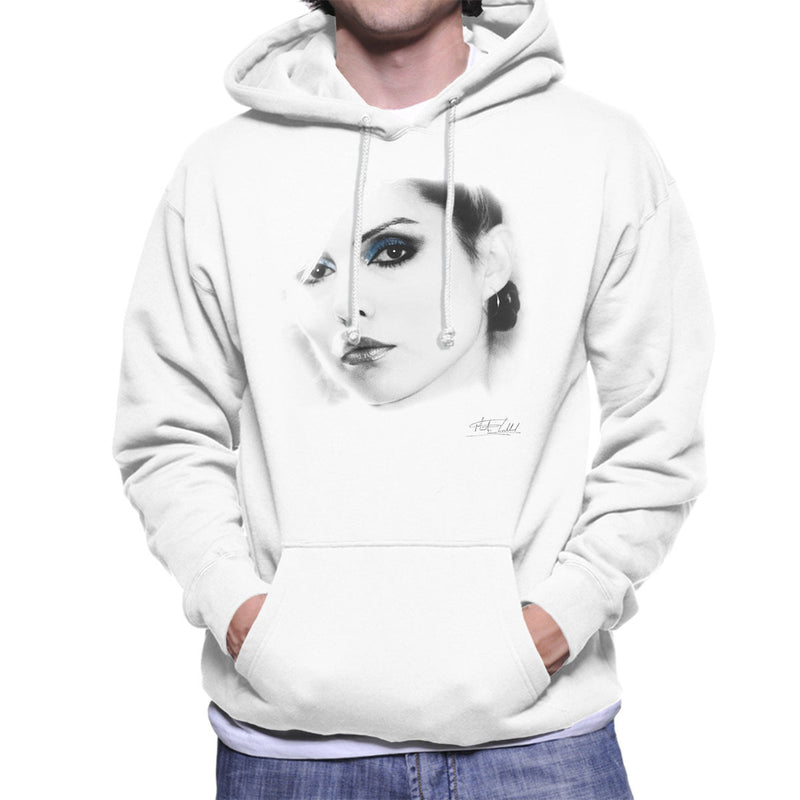 Debbie Harry Close Up Men's Hooded Sweatshirt