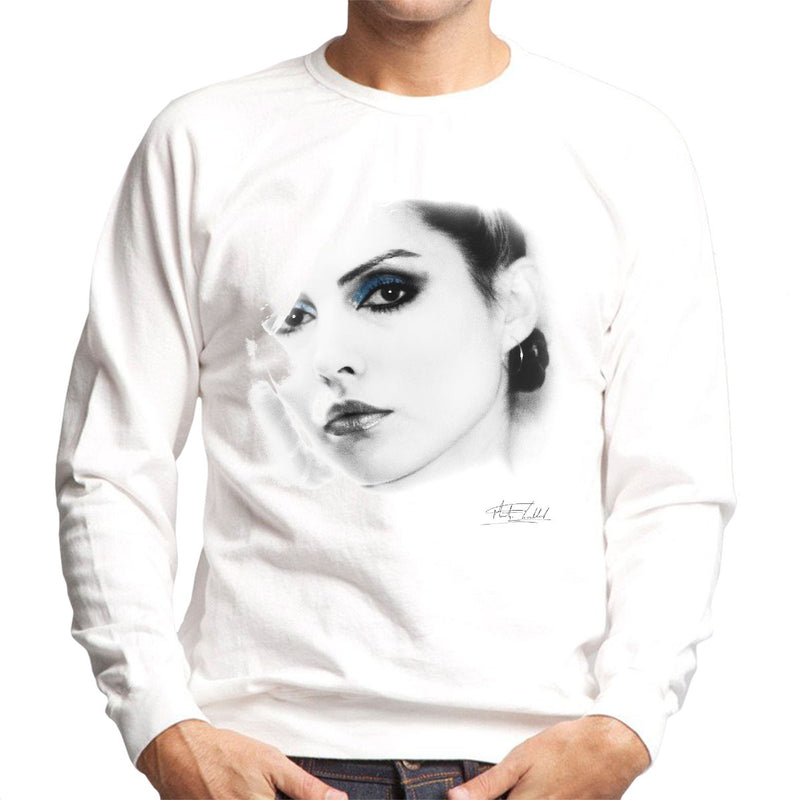 Debbie Harry Close Up Men's Sweatshirt - Don't Talk To Me About Heroes