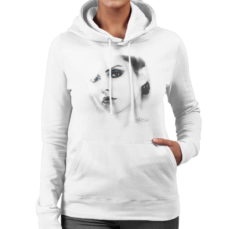 Debbie Harry Close Up Women's Hooded Sweatshirt - Don't Talk To Me About Heroes