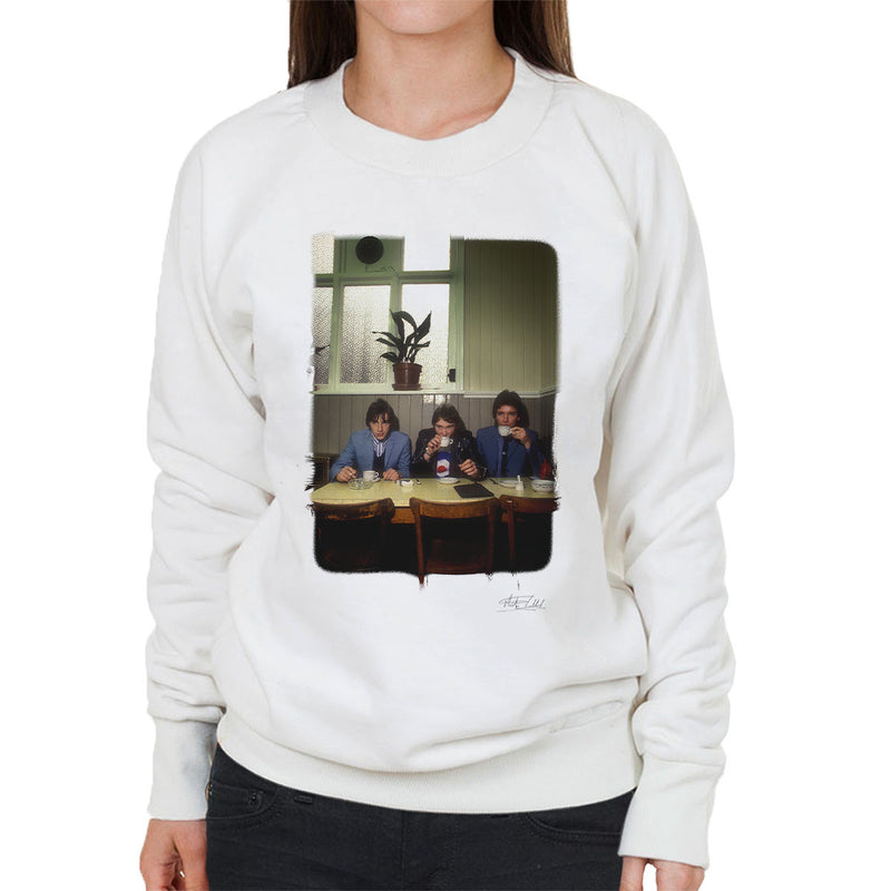 The Jam News Of The World Cafe Women's Sweatshirt - Don't Talk To Me About Heroes