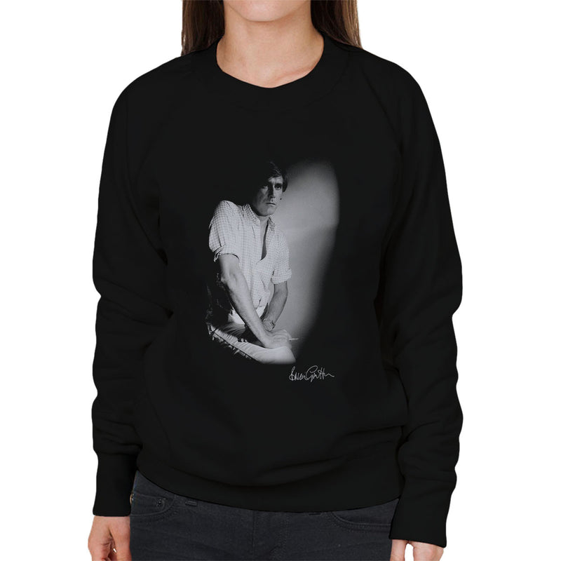 Bryan Ferry London Press Shoot Women's Sweatshirt - Don't Talk To Me About Heroes