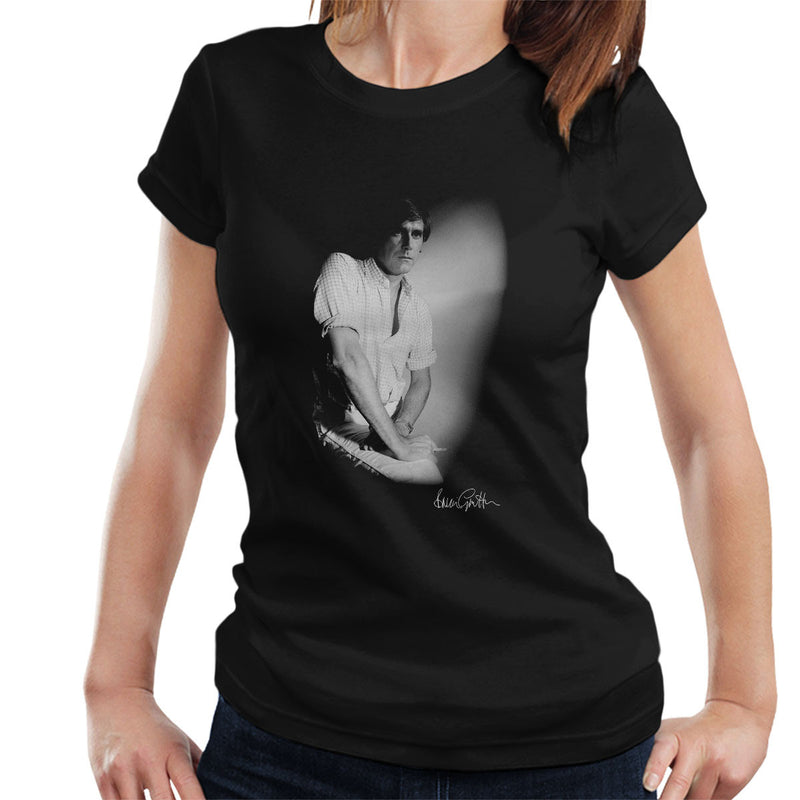 Bryan Ferry London Press Shoot Women's T-Shirt - Don't Talk To Me About Heroes
