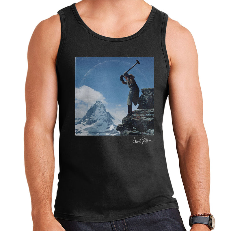 Depeche Mode Construction Time Again Sleeve Alternate Men's Vest - Don't Talk To Me About Heroes