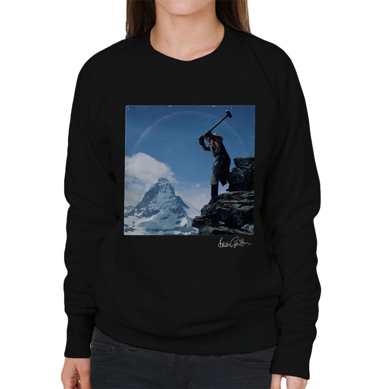Depeche Mode Construction Time Again Sleeve Alternate Women's Sweatshirt - Don't Talk To Me About Heroes