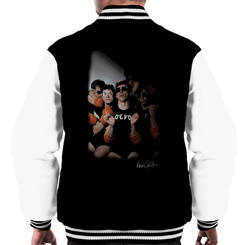 Devo In Toronto Men's Varsity Jacket