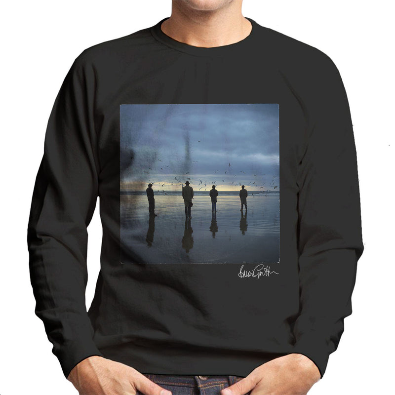 Echo And The Bunnymen Heaven Up Here Album Sleeve Men's Sweatshirt - Don't Talk To Me About Heroes