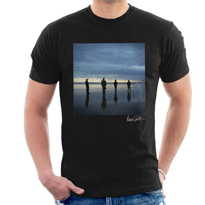 Echo And The Bunnymen Heaven Up Here Album Sleeve Men's T-Shirt - Don't Talk To Me About Heroes