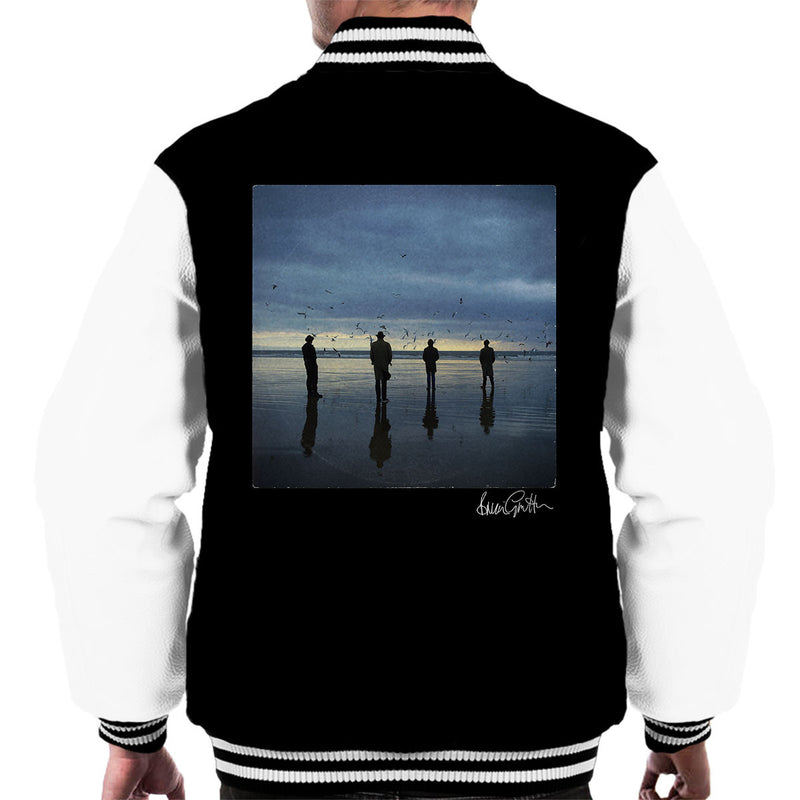 Echo And The Bunnymen Heaven Up Here Album Sleeve Men's Varsity Jacket - Don't Talk To Me About Heroes