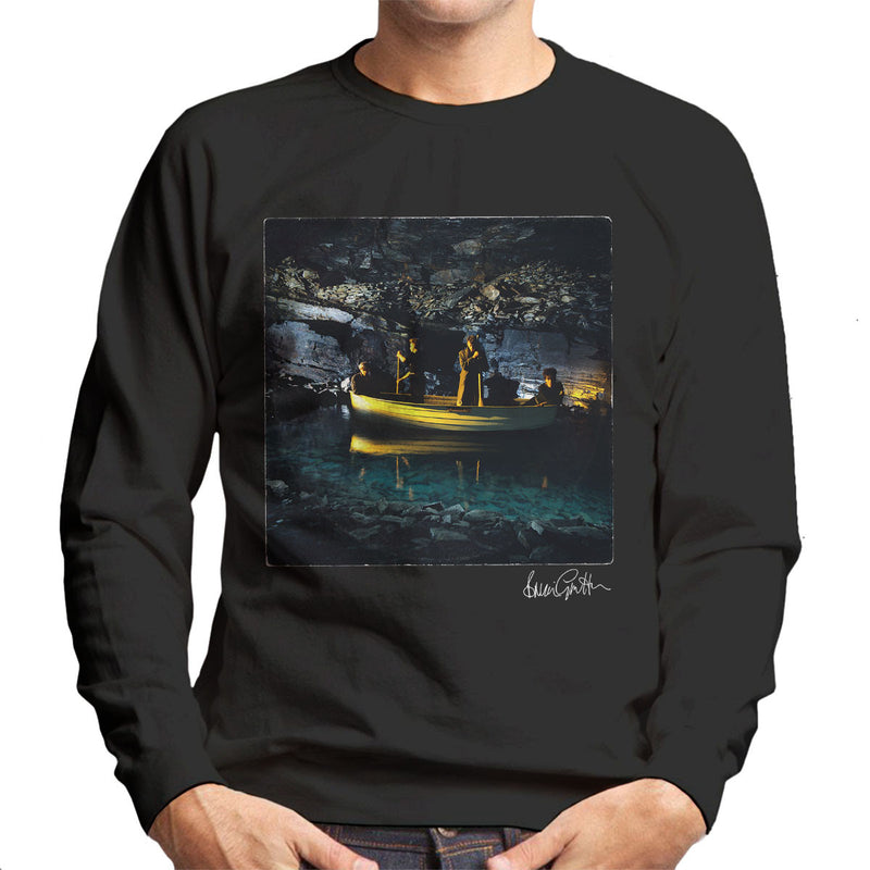 Echo And The Bunnymen Crystal Days Album Sleeve Men's Sweatshirt