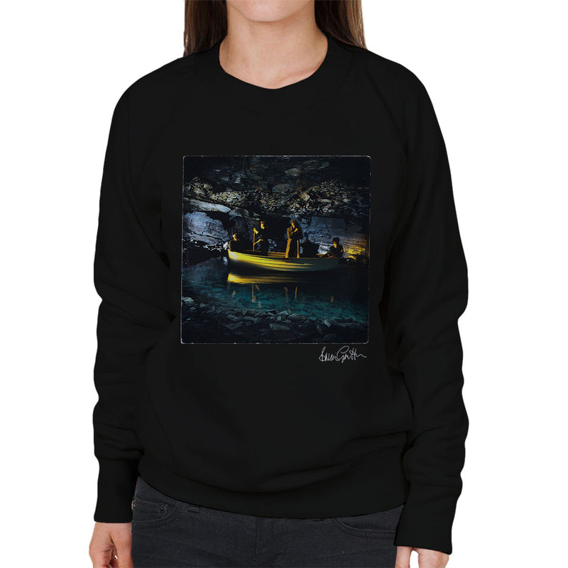Echo And The Bunnymen Crystal Days Album Sleeve Women's Sweatshirt - Don't Talk To Me About Heroes