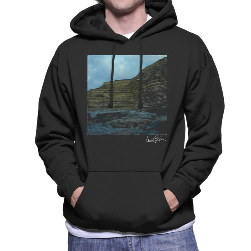Echo And The Bunnymen A Promise Single Sleeve Men's Hooded Sweatshirt