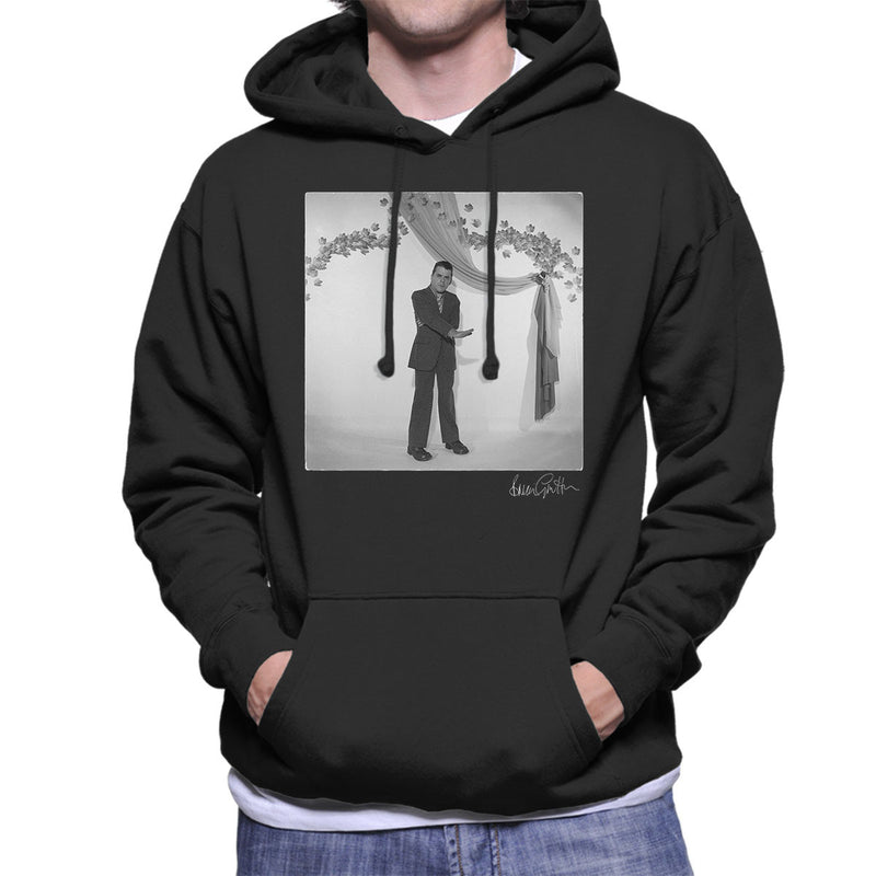 Ian Dury Laughter Press Shot Men's Hooded Sweatshirt