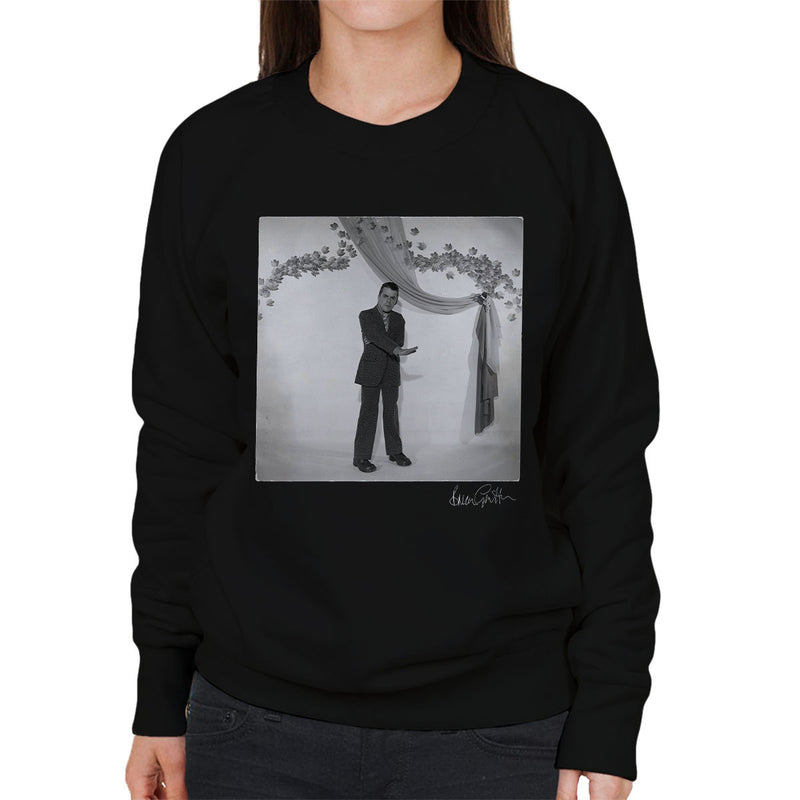 Ian Dury Laughter Press Shot Women's Sweatshirt