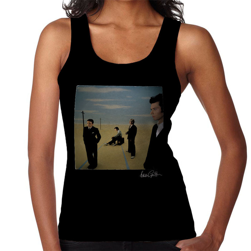 Ultravox Rage In Eden 1981 Women's Vest - Don't Talk To Me About Heroes