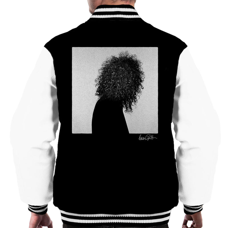 Brian May Queen Rotherhithe Studio 1990 Men's Varsity Jacket - Don't Talk To Me About Heroes