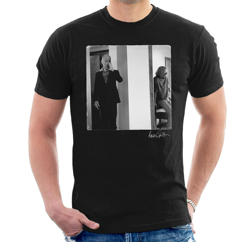 REM Michael Stipe Men's T-Shirt - Don't Talk To Me About Heroes