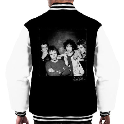 The Clash At The Roundhouse London Men's Varsity Jacket - Don't Talk To Me About Heroes