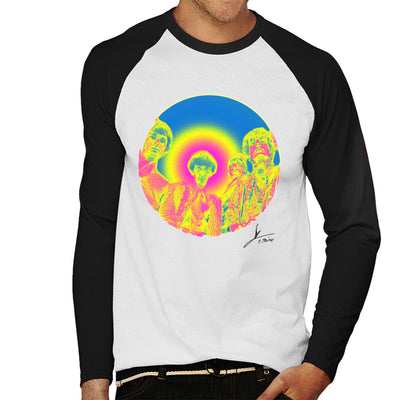 Pink Floyd Ruskin Park Shoot Infrared 1967 Black Men's Baseball Long Sleeved T-Shirt