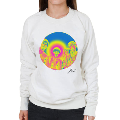 Pink Floyd Ruskin Park Shoot Infrared 1967 Black Women's Sweatshirt