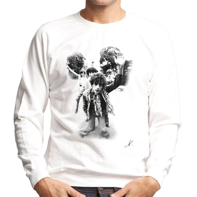 Pink Floyd Gates Of Dawn Cover Outtake Black And White Men's Sweatshirt