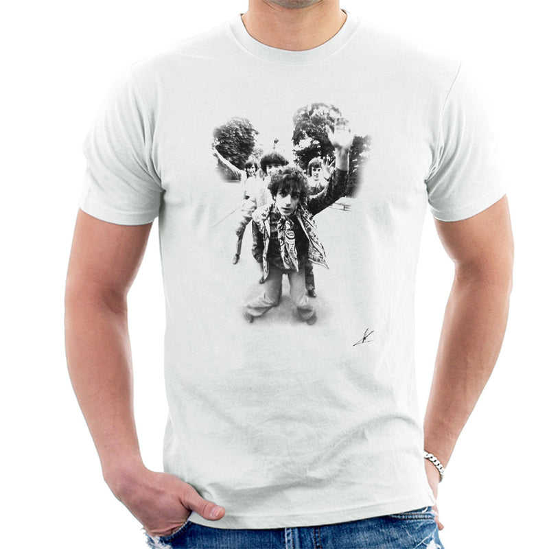 45437a958528a6 Pink Floyd Gates Of Dawn Cover Outtake Black And White Men s T-Shirt