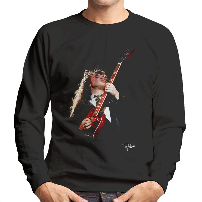 Angus Young ACDC 1988 Men's Sweatshirt - Don't Talk To Me About Heroes