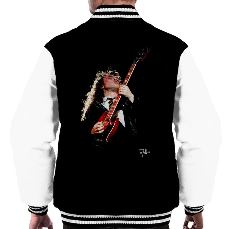 Angus Young ACDC 1988 Men's Varsity Jacket - Don't Talk To Me About Heroes