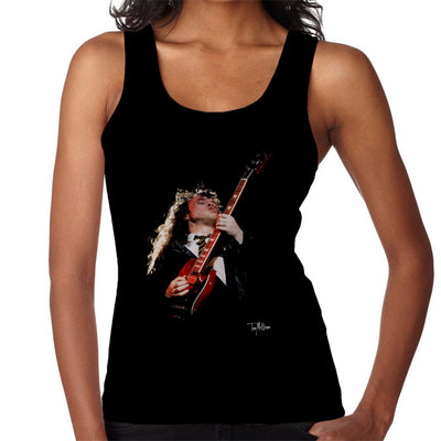 Angus Young ACDC 1988 Women's Vest - Don't Talk To Me About Heroes